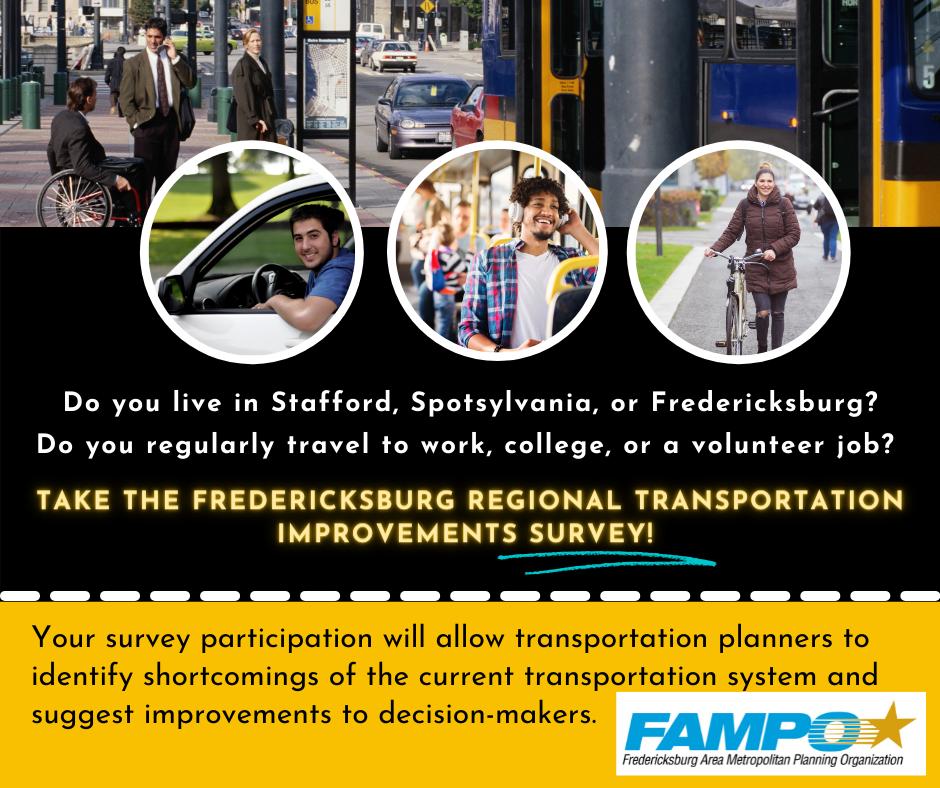 Graphic about the Transportation Improvement Survey